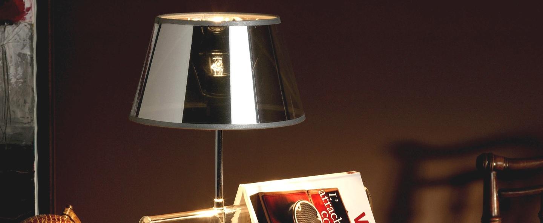 Lampe a poser l empirique argent transparent h42cm designheure normal