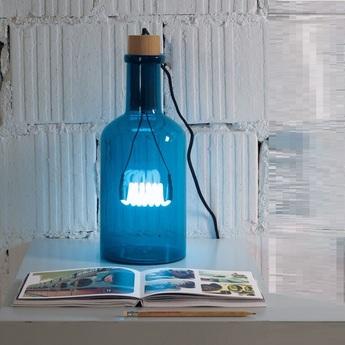 Lampe a poser la bouche bleu h39cm seletti normal