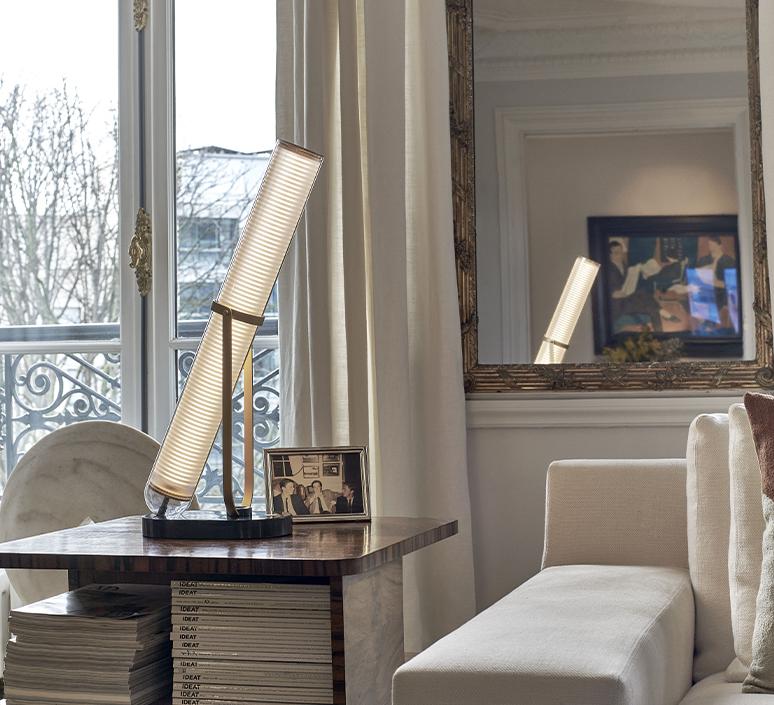 La lampe frechin jean louis frechin lampe a poser table lamp  dcw la lampe frechin  design signed nedgis 123783 product
