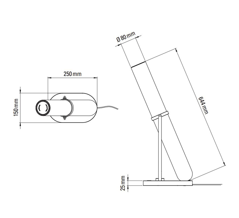 La lampe frechin jean louis frechin lampe a poser table lamp  dcw la lampe frechin  design signed nedgis 123793 product