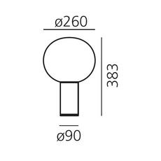 Laguna tavolo matteo thun lampe a poser table lamp  artemide 1805140a  design signed 60998 thumb