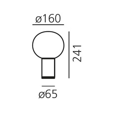 Laguna tavolo matteo thun lampe a poser table lamp  artemide 1800140a  design signed 60989 thumb