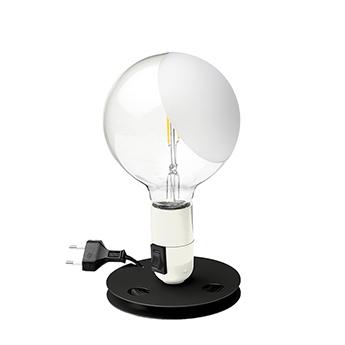 Lampe a poser lampadina blanc led 2700k 200lm o12 5cm h24cm flos normal