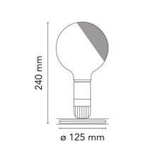 Lampadina achille castiglioni lampe a poser table lamp  flos f32099042  design signed nedgis 98348 thumb