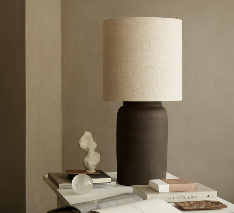 Lampclay l studio tine k home lampe a poser table lamp  tine k home lampclay l smoke  design signed nedgis 94190 product