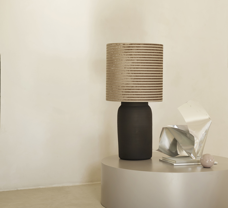 Lampclay l studio tine k home lampe a poser table lamp  tine k home lampclay l smoke  design signed nedgis 94191 product