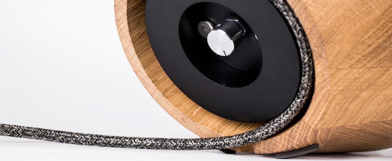 Lampe a poser lampe a poser gris o23cm h25cm kngb normal