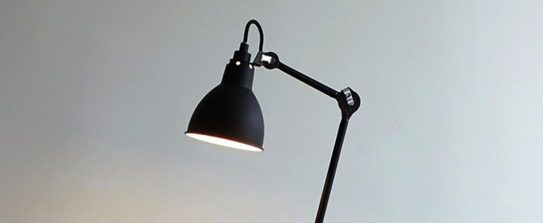 Lampe a poser lampe gras 206 noir rouge h93cm dcw editions normal