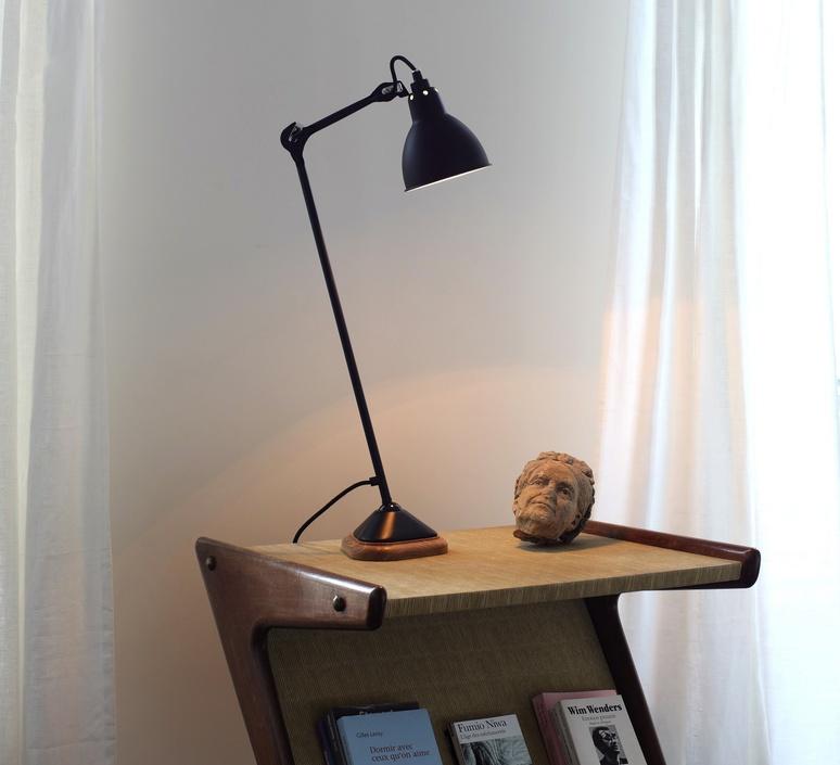 Lampe gras 206 bernard albin gras dcw editions 206rd sat luminaire lighting design signed 29460 product