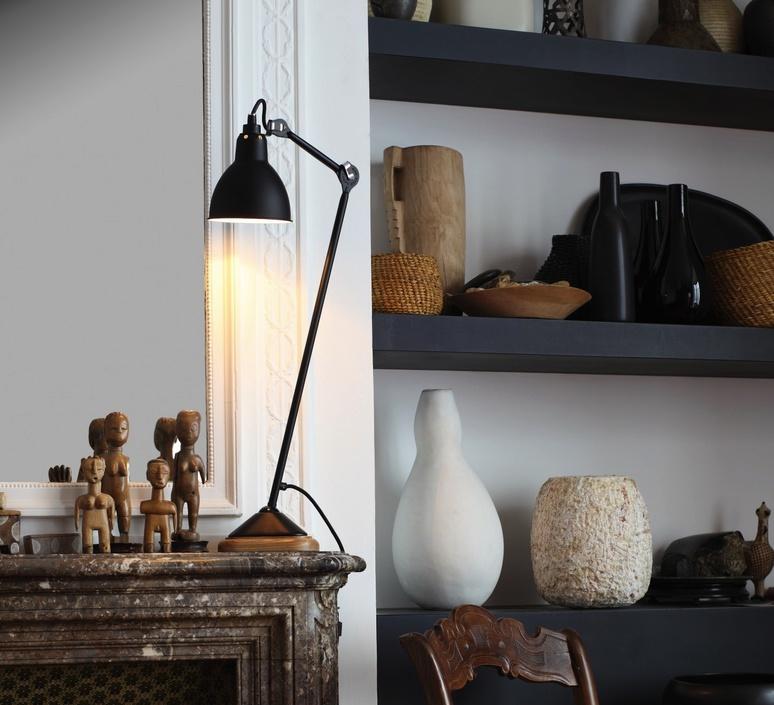 Lampe gras 206 bernard albin gras dcw editions 206rd sat luminaire lighting design signed 29461 product