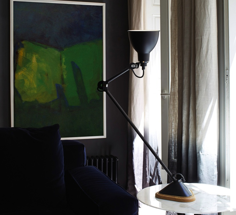 Lampe gras 206 bernard albin gras dcw editions 206rd sat luminaire lighting design signed 29462 product
