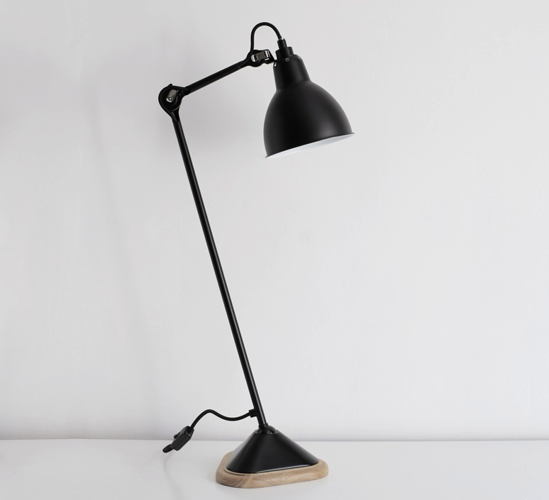 Lampe gras 206 bernard albin gras dcw editions 206rd sat luminaire lighting design signed 29464 product