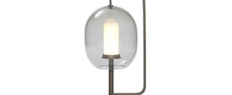 Lampe a poser lantern light laiton bruni led o21cm h54cm classicon normal