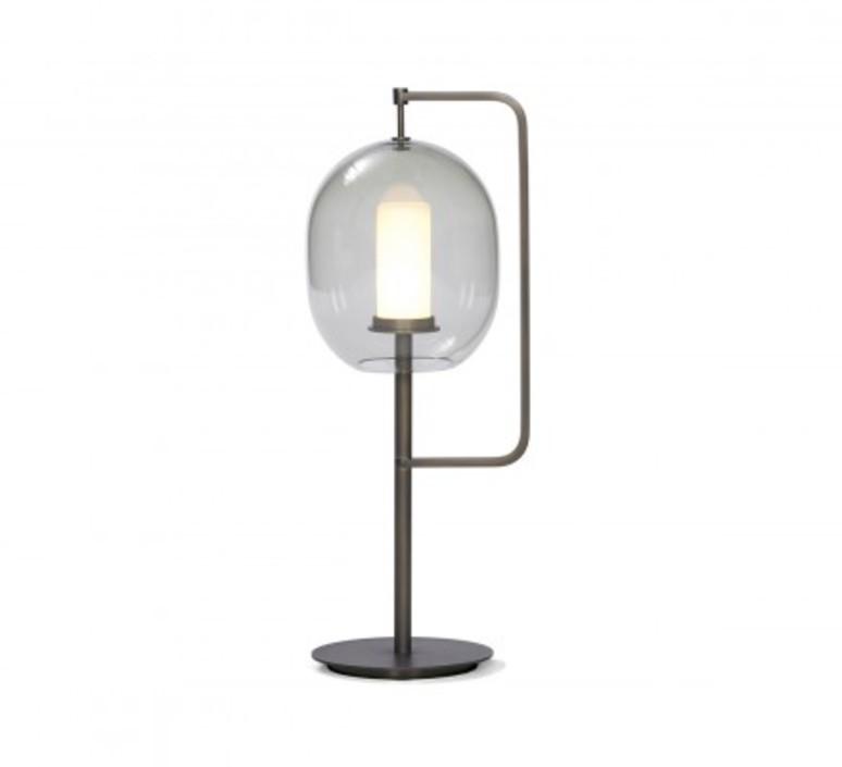 Lantern light neri et hu lampe a poser table lamp  classicon lantern light table lamp burnished brass  design signed 49822 product