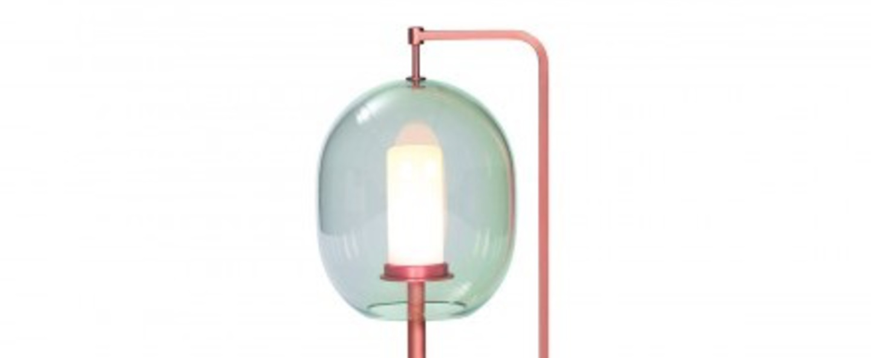 Lampe a poser lantern light laiton cuivre led o21cm h54cm classicon normal