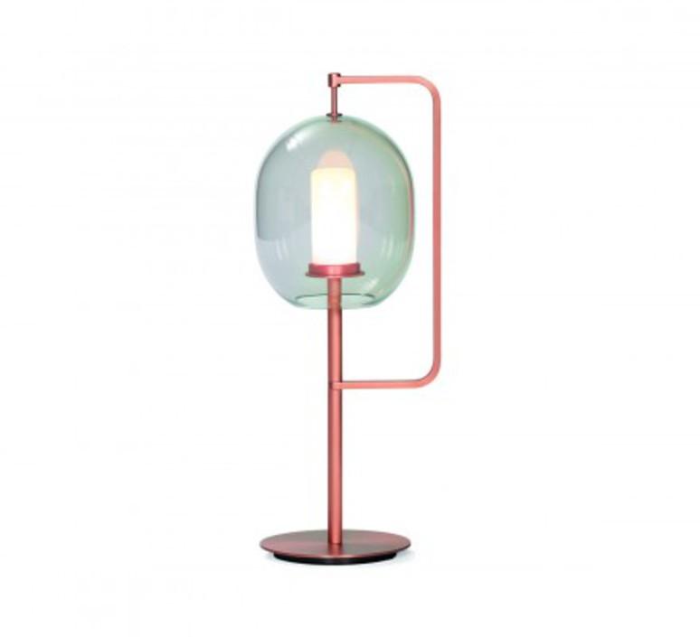 Lantern light neri et hu lampe a poser table lamp  classicon lantern light table lamp coppered brass  design signed 49818 product