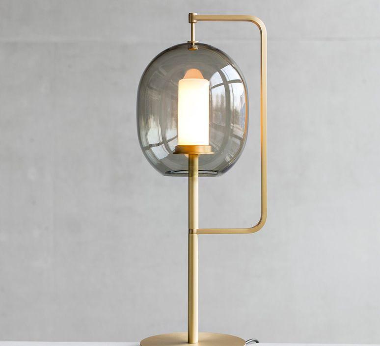 Lantern light neri et hu lampe a poser table lamp  classicon lantern light table lamp brass  design signed 49830 product