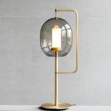 Lantern light neri et hu lampe a poser table lamp  classicon lantern light table lamp brass  design signed 49830 thumb