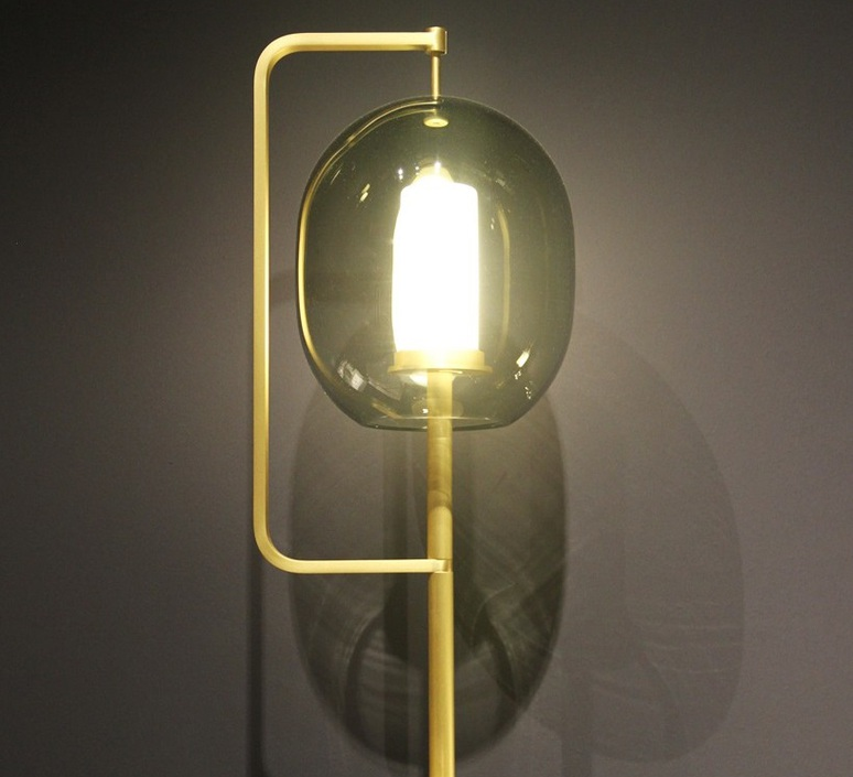 Lantern light neri et hu lampe a poser table lamp  classicon lantern light table lamp brass  design signed 49831 product
