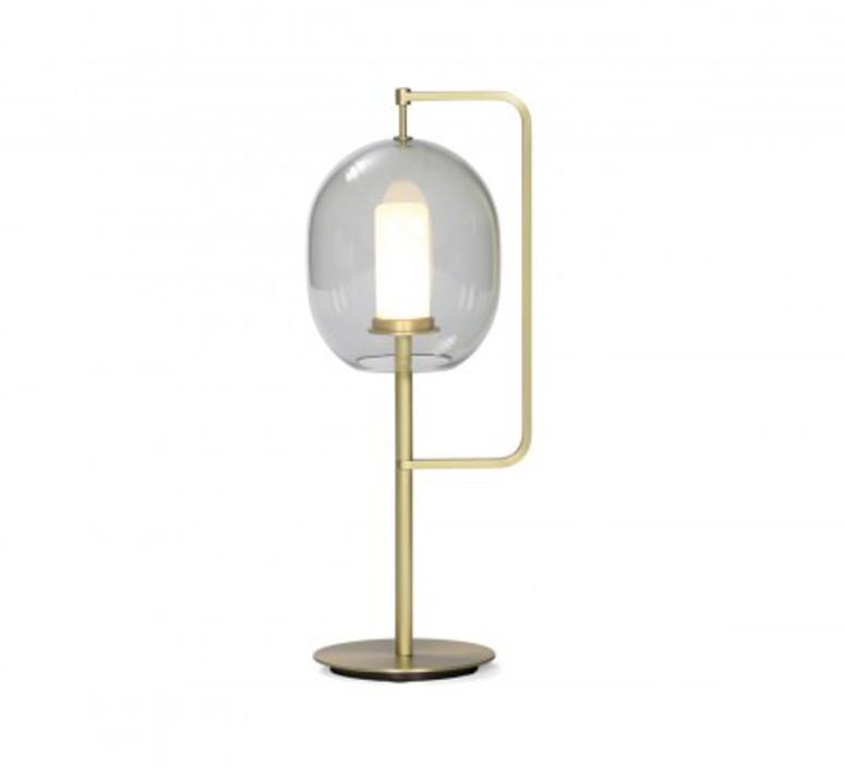 Lantern light neri et hu lampe a poser table lamp  classicon lantern light table lamp brass  design signed 49832 product