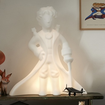 Lampe a poser le petit prince blanc h60cm mr maria normal