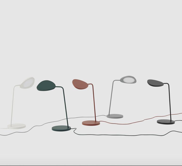 Leaf broberg ridderstrale lampe a poser table lamp  muuto 13423  design signed nedgis 125824 product