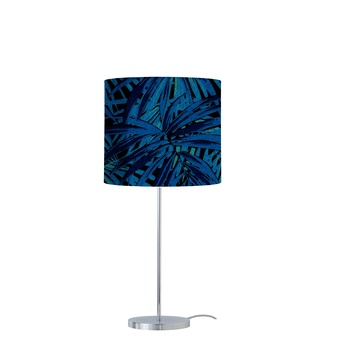 Lampe a poser leaves bleu electrique o35cm h82cm ebb flow 0e6afa8e 253c 40fa a6c4 32732b39207a normal