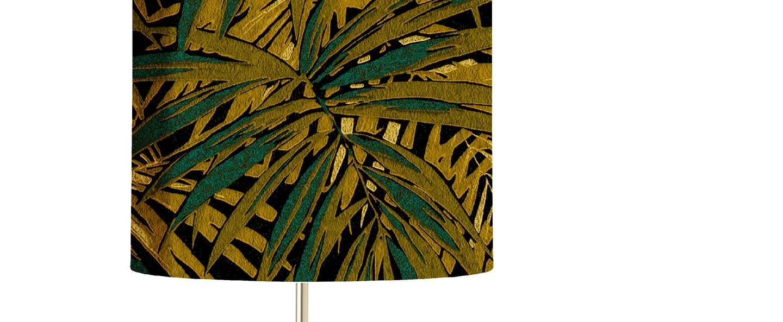 Lampe a poser leaves mais o35cm h82cm ebb flow normal