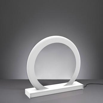 Lampe a poser led rgb dimable radius gateway wifi blanc h65cm ilomio normal