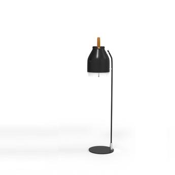 Lampe a poser led wifi cowbell noir h66cm ilomio normal