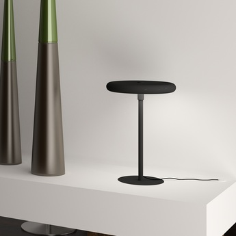 Lampe a poser led wifi radius noir h41cm ilomio normal