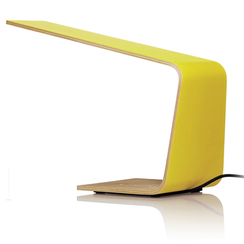 Lampe a poser led1 jaune h30cm tunto normal