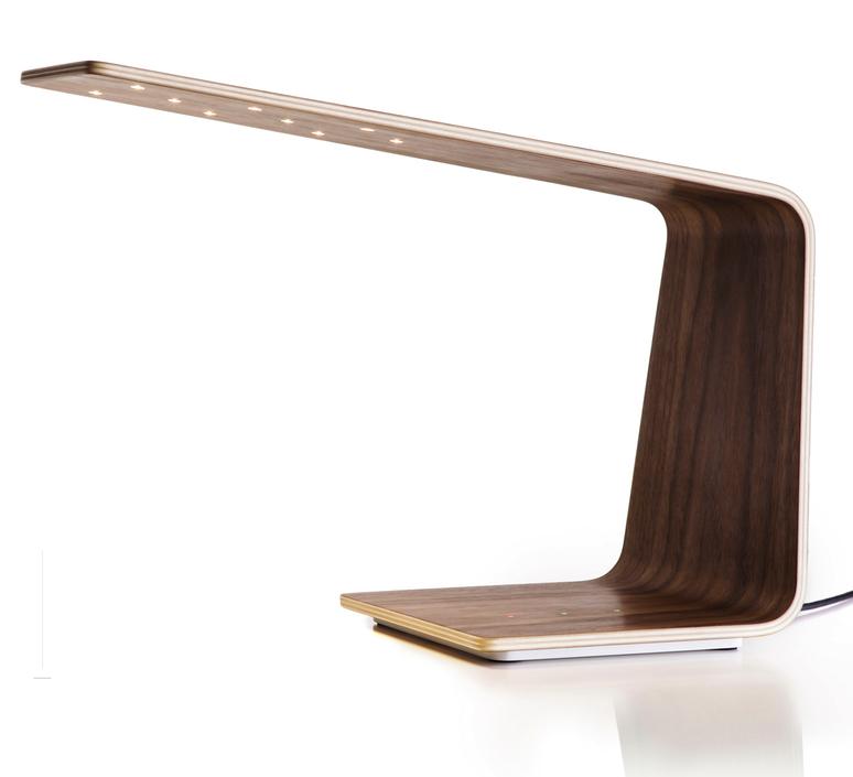 Led1 mikko karkkainen tunto led1 walnut walnut luminaire lighting design signed 12197 product