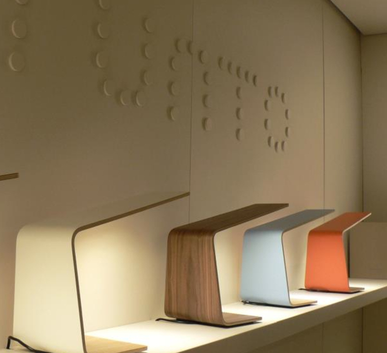 Led1 mikko karkkainen tunto led1 walnut walnut luminaire lighting design signed 12200 product