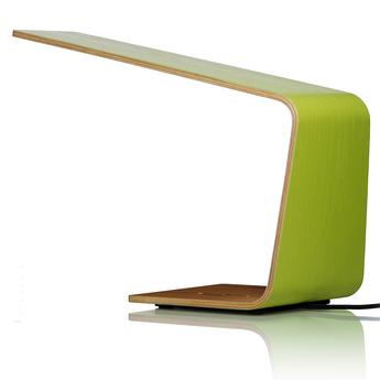 Lampe a poser led1 vert h30cm tunto normal