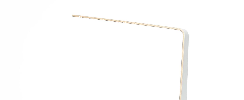 Lampe a poser led4 blanc h52cm tunto normal