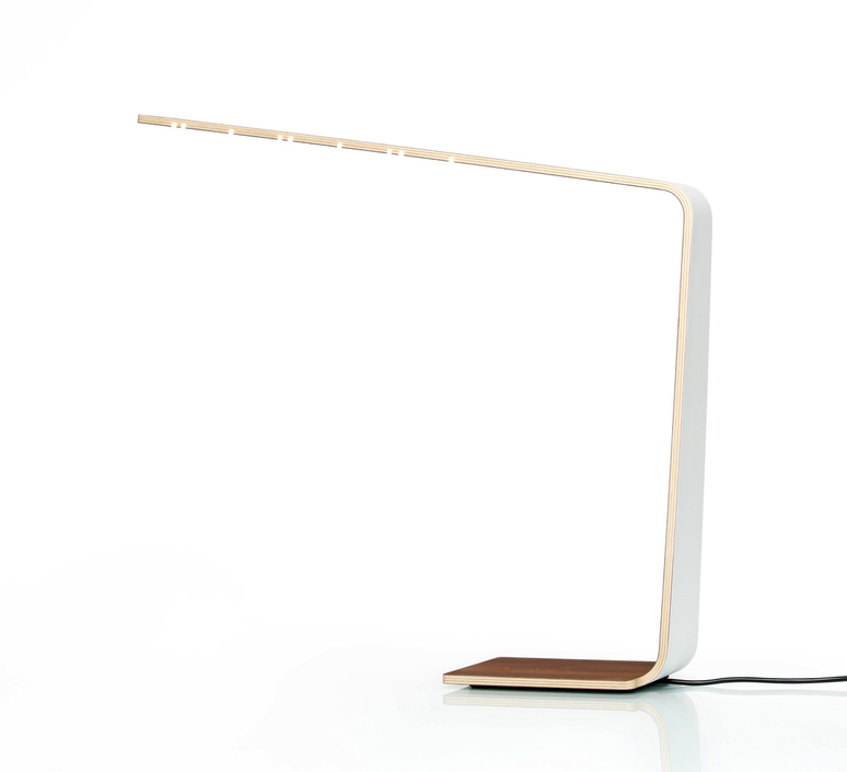 Led4 mikko karkkainen tunto led4 walnut white luminaire lighting design signed 12239 product
