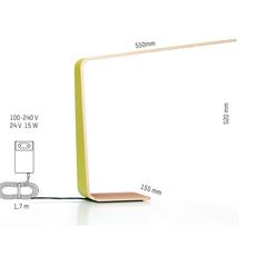 Led4 mikko karkkainen tunto led4 walnut white luminaire lighting design signed 12240 thumb