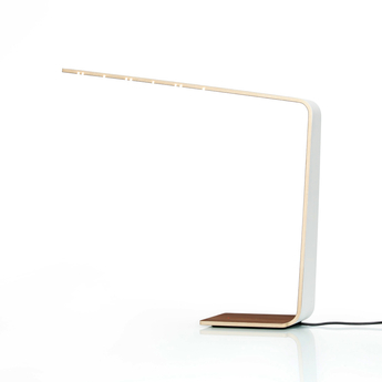 Lampe a poser led4 blanc h52cm tunto normal