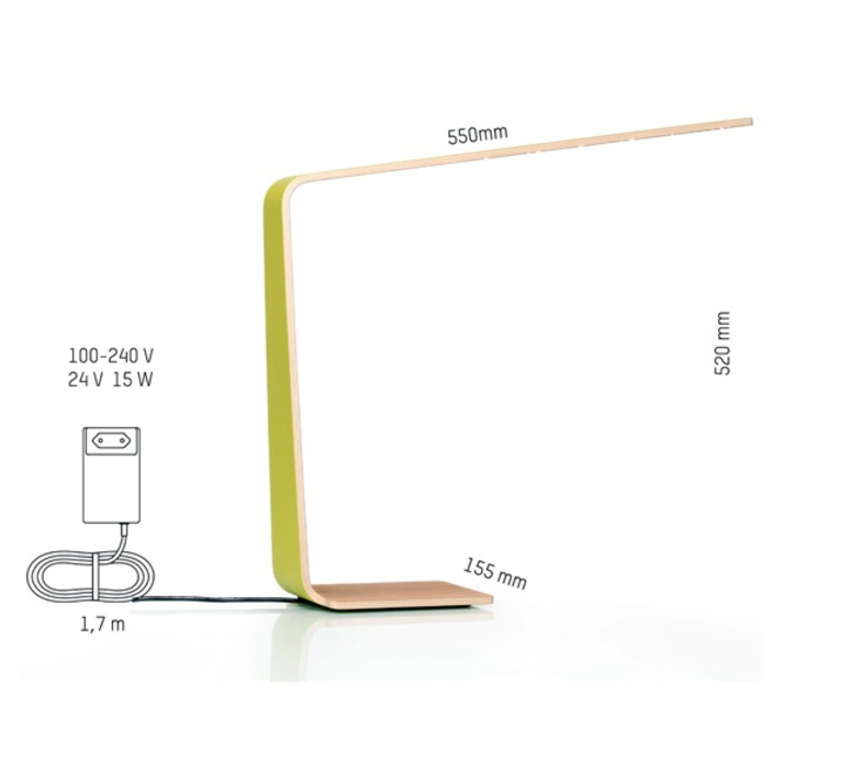 Led4 mikko karkkainen tunto led4 birch birch luminaire lighting design signed 12233 product