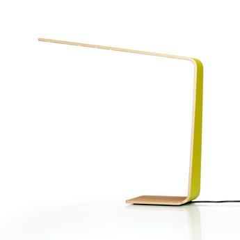 Lampe a poser led4 jaune h52cm tunto normal