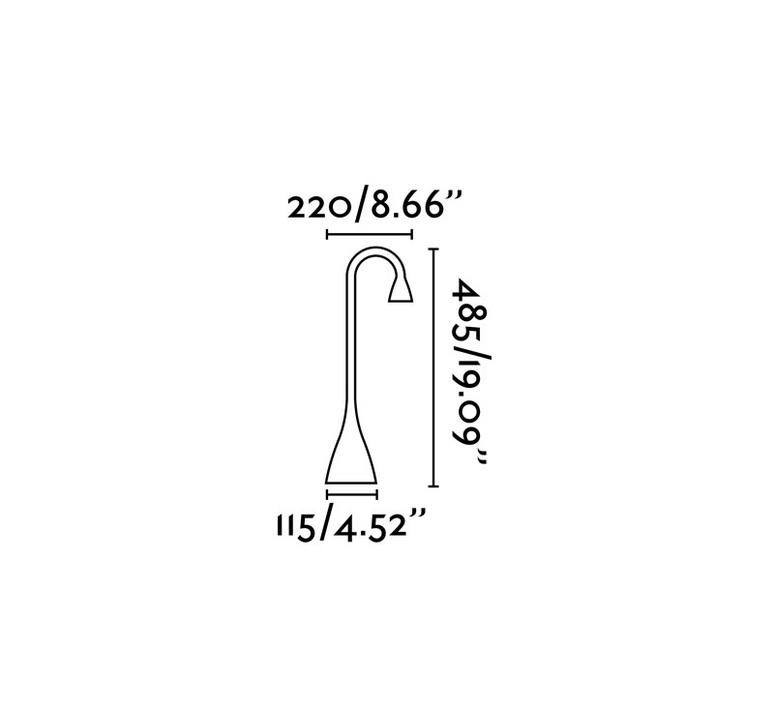 Lena estudi ribaudi lampe a poser table lamp  faro 52057  design signed nedgis 67997 product