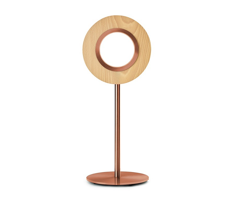 Lens circular mut design lampe a poser table lamp  lzf lens cr m co led 22  design signed nedgis 76613 product