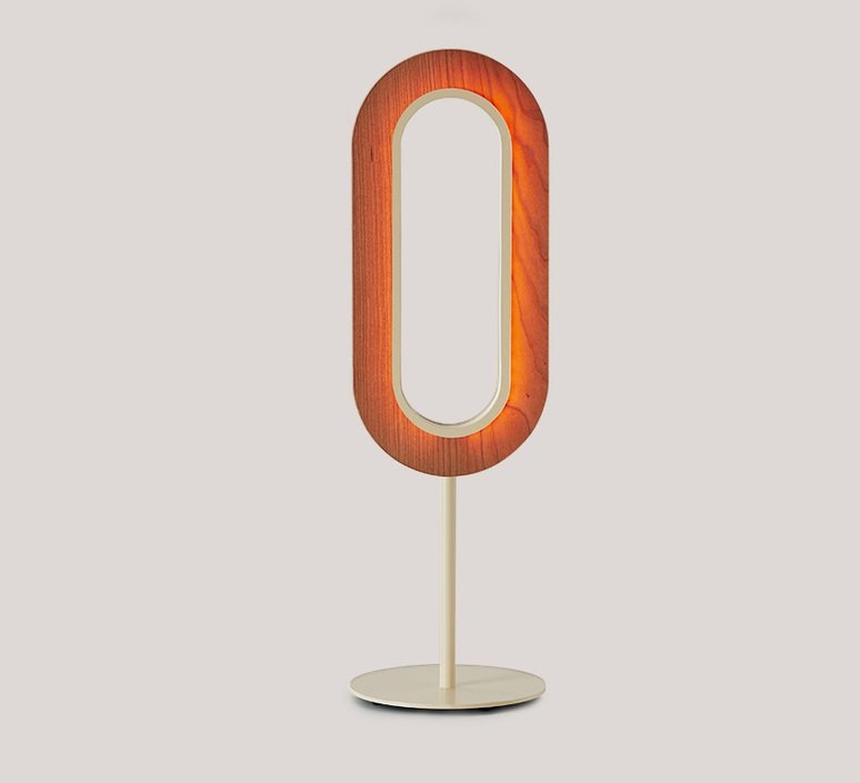Lens oval mut design lampe a poser table lamp  lzf lens ov m iv led 21  design signed nedgis 76420 product