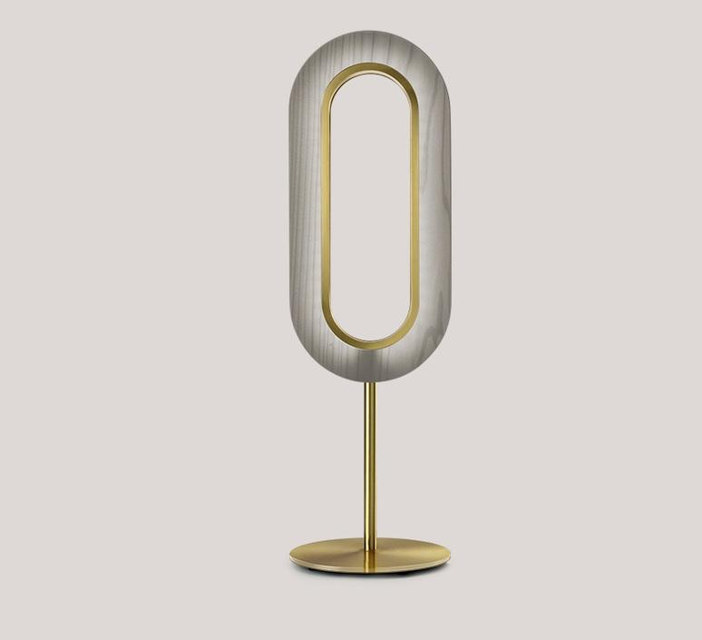 Lens oval mut design lampe a poser table lamp  lzf lens ov m gd led 29  design signed nedgis 76464 product