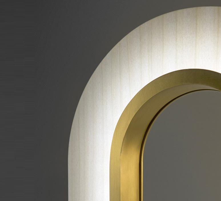 Lens oval mut design lampe a poser table lamp  lzf lens ov m gd led 20  design signed nedgis 76447 product