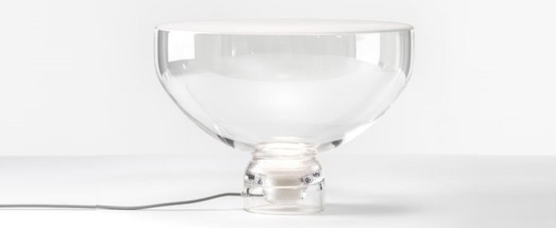 Lampe a poser lightline l blanc o45cm brokis normal