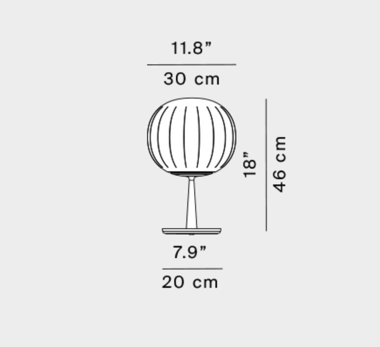 Lita francisco gomez paz lampe a poser table lamp  luceplan 1d920 300002 1d920 300002  design signed nedgis 78494 product