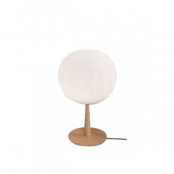 Lampe a poser lita bois blanc o12cm h28cm luceplan normal
