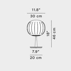Lita francisco gomez paz lampe a poser table lamp  luceplan 1d920 300002 1d920 300099  design signed nedgis 78497 thumb